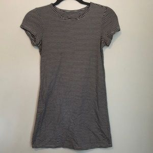 Striped nautical t-shirt dress